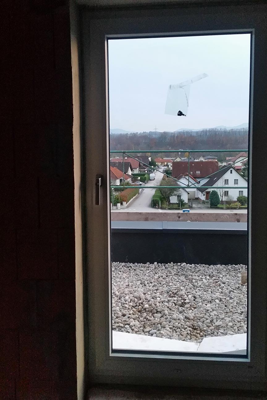 balkontüre nach einbau von hhb